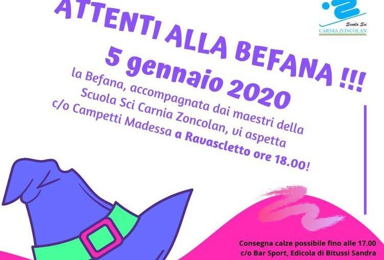 Attenti alla befana 2020